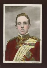 Royalty King of Spain c1900s Glitter RP PPC by Rotary Photographic