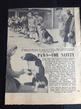 N1-5 Ephemera 1957 Picture Article Road Safety Islington Margaret Thomas Rapetti