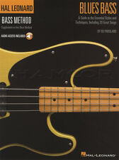 Hal Leonard Bass Method Blues Guitar TAB Music Book with Audio Learn How To Play