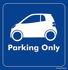 Parking Only - Smart ForTwo MK2 - Aufkleber