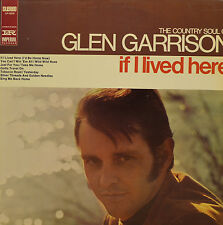 "THE COUNTRY SOUL OF GLEN GARRISON-IF I LIVED HERE IMPERIAL LP12378 12"" LP( R870)"