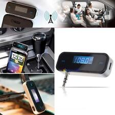 LCD FM Transmitter Wireless Radio Adapter Converter MP3 Hands Free Player UP