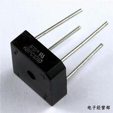 2x 10A 1000V Metal Case Bridge Rectifier SEP KBPC1010