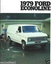 Truck Brochure - Ford - Econoline Van - 1979 (T1404)