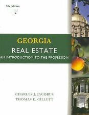 Georgia Real Estate : An Introduction to the Profession by Thomas E. Gillett...