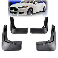 XUKEY Fit For 13 thru 17 Ford Fusion Molded Splash Guard Mud Flap Front Rear Set