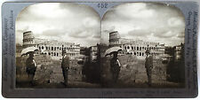 Keystone Stereoview The Roman Colosseum, Rome, ITALY 1910's Education Set # A