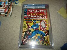 RARE CGC 9.2 SGT. FURY & HIS HOWLING COMMANDOS #13 REPRINT EXTREMELY HTF!!