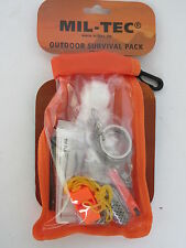 Outdoor Überlebens Set Survival Pack Small Blanket Firestone Equipment Tools BW
