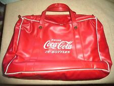 VINTAGE COCA COLA COKE BAG INSULATED FROM THE 1950'S