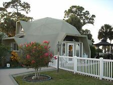Panelized Dome Home Kit - 1,198 sq.ft.- Fire Resistant - 225 Wind Guarantee
