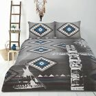 Retro Tribe Tribal Africa Vintage Quilt Doona Cover Set SINGLE DOUBLE QUEEN KING