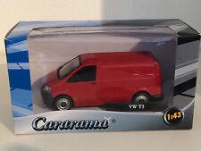 Cararama Volkswagen T5 Transporter in Weinot 1/43 OVP