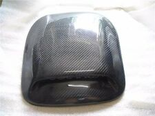 Universal Carbon Fiber Hood Bonnet Roof Scoop Air Duct Vent for BMW Audi  #02