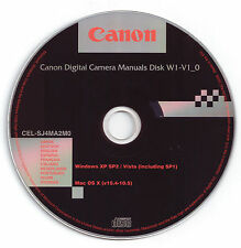 Canon Digital Camera Manuals Disk - for Powershot A1000 IS ,A2000 IS & SX110 IS