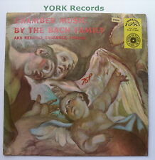 SUA ST 50036 - CHAMBER MUSIC BY THE BACH FAMILY - Ars Rediviva En - Ex LP Record