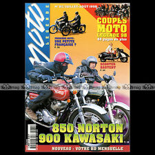 MOTO LEGENDE N°82 KAWASAKI 900 Z1 NORTON 850 COMMANDO MOTOBECANE D45 PEUGEOT 176