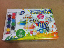 BRAND NEW Cre8tiv Kidz Creative Kids Paint Your Own Ceramic Set Age 6+
