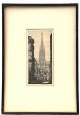 Rare 1917 Donald Shaw MacLaughlan - Original Etching Great for Collector