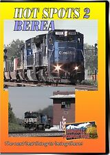 HOT SPOTS 2 BEREA CSX AND NORFOLK SOUTHERN HIGHBALL PRODUCTIONS NEW DVD VIDEO