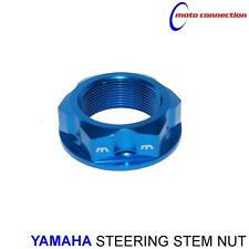 NEW YAMAHA MBO SPORT STEERING STEM NUT BLUE FOR YAMAHA YZF250 YZF450 2012