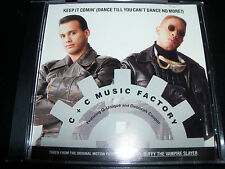 C + C Music Factory Keep It Coming US 4 Track Remixes CD Single