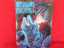 Wild ARMs Alter Code F complete strategy guide book /Playstation 2, PS2