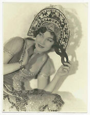 RADIANT SILVER SCREEN HEAVILY JEWELED JANE WINSTON DECO ERA MAX MUN AUTREY PHOTO