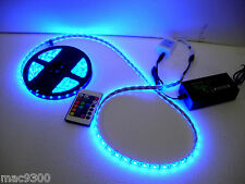SMD 5050 RGB LED Strip Light Waterproof with Remote Control, P.S. (Complete Set)