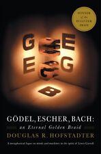 Godel, Escher, Bach: An Eternal Golden Braid (Paperback), Hofstad. 9780465026562