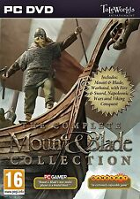 PC Spiel Mount and Blade Complete Collection mit Warband with Fire & Sword NEU
