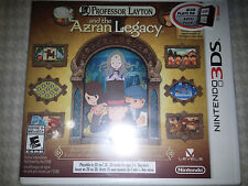 3DS Professor Layton and the Azran Legacy Game |BRAND NEW SEALED Nintendo