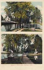 Antique POSTCARD c1909 Scenes in Colt's Colt Park HARTFORD, CT 17907