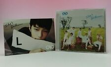 CD INFINITE Japan 3rd Single She's Back with Official Postcard L MYUNGSOO