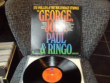 STU PHILLIPS THE HOLLYRIDGE STRINGS GEORGE JOHN PAUL & RINGO SONGBOOK LP BEATLES