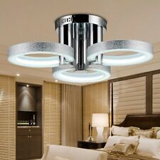 NEW Modern LED Flush Ceiling Light Pendant Fixture Lighting Crystal Chandelier