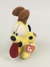 "6"" soft cute odie the dog from garfield ty beanie babies plush  2007 New -D3"