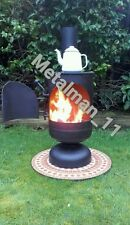 Gas Bottle Wood burner/ Log Burner / Chiminea/patio heater/ workshop /yurt/shed