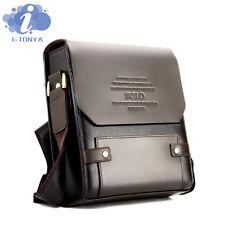 Fashion Men's PU Shoulder Messenger Book bag Satchel Travel Man's Bags NEW