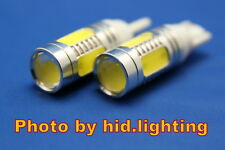 2x T10 T15 921 7.5W Lens Cree Q5 High Power Car Signal Tail White LED Light Bulb
