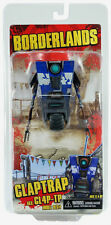 "NECA_BORDERLANDS_Blue CLAPTRAP aka: CL4P-TP 4 "" figure_Exclusive Limited Edition"