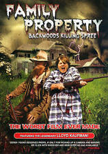 Family Property: Backwoods Killing Spree DVD***NEW***
