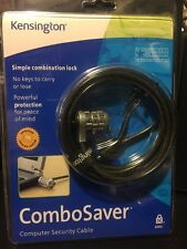 Kensington ComboSaver 64050 Laptop Security Cable BRAND NEW RETAIL PACKAGE
