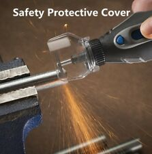 Safety Protective Cover Electric Grinder Transparent Cover Shield Dremel Drill