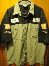 TONY STEWART #20 Home Depot ~ XL ~ Chase Authentics Joe Gibbs Racing Pit Shirt