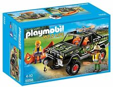Playmobil 5558 Wildife Adventure Pickup Truck