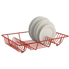 PREMIUM QUALITY LARGE METAL WIRE DISH DRAINER PLATE DRAINING RACK /HOLDER STAND