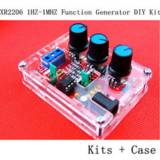 XR2206 1HZ-1MHZ Function Signal Generator DIY Kit Sine Triangle Square Output