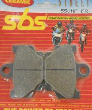 SBS Brake pads front 550 HF SR125 DT80 XJ650 RD125LC RD250 LC RD350 RD80 XT600