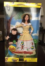 2000 BARBIE AND CURIOUS GEORGE 2nd In The Keepsake Treasures Collection NIB